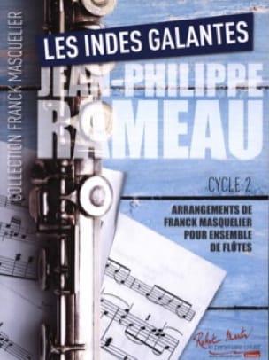Les Indes Galantes - Ensemble de Flûtes - RAMEAU - laflutedepan.com