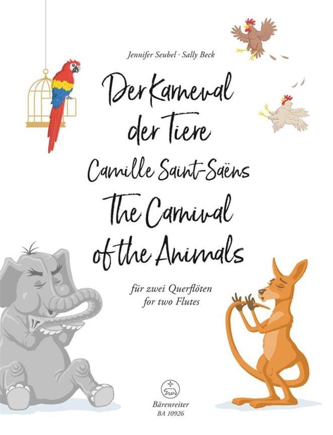 Le Carnaval des Animaux - 2 Flûtes - SAINT-SAËNS - laflutedepan.com