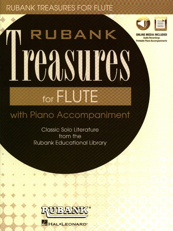 Rubank Treasures for Flute - Partition - laflutedepan.com