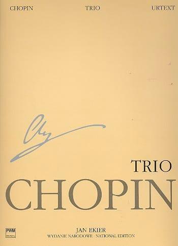 Trio - CHOPIN - Partition - Trios - laflutedepan.com