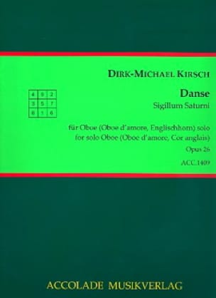 Danse op. 26 - Dirk-Michael Kirsch - Partition - laflutedepan.com