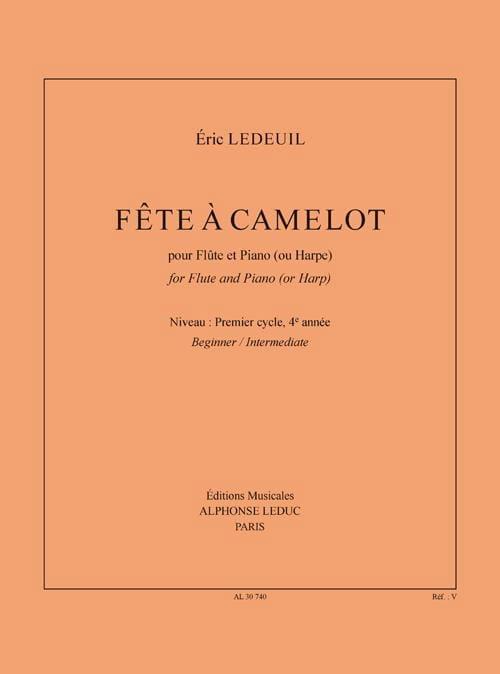 Fête à Camelot - Eric Ledeuil - Partition - laflutedepan.com