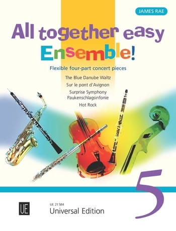 All Together easy Ensemble! 5 - Partition - laflutedepan.com