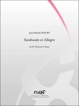 Sarabande et Allegro - Jean-Michel Maury - laflutedepan.com