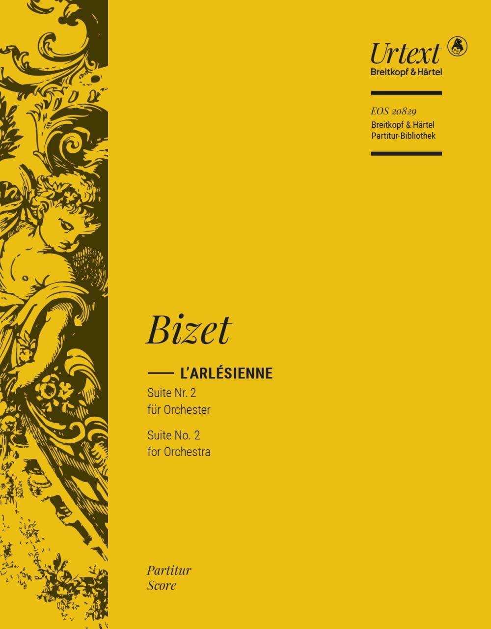 BIZET - L'Arlésienne - Suite n ° 2 - Partition - di-arezzo.com