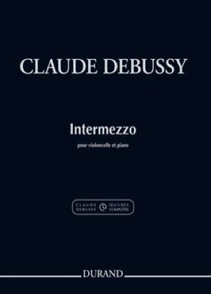 Intermezzo - DEBUSSY - Partition - Violoncelle - laflutedepan.com
