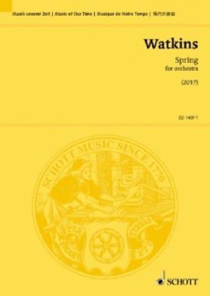 Spring - Conducteur - Huw Watkins - Partition - laflutedepan.com