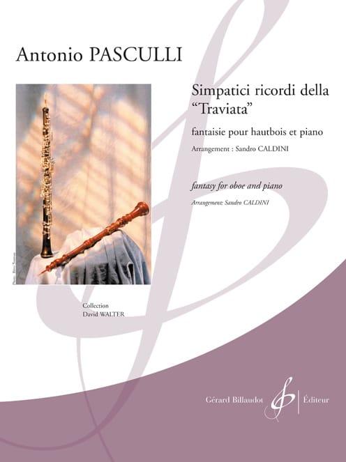 Antonino Pasculli - Simpatici ricordi della Traviata - Partition - di-arezzo.es