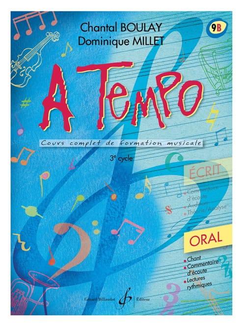 A Tempo Volume 9B - Oral - BOULAY - MILLET - laflutedepan.com