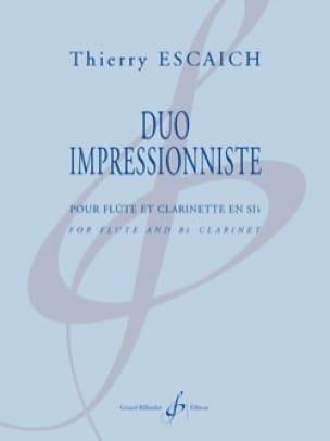 Duo Impressionniste - Thierry Escaich - Partition - laflutedepan.com