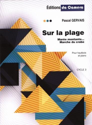 Sur la Plage - Hautbois et Piano - Pascal Gervais - laflutedepan.com