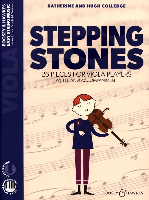 - Stepping Stones - Viola and Piano - Partition - di-arezzo.com