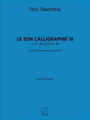 Le Son Calligraphié III - Parties séparées - laflutedepan.com