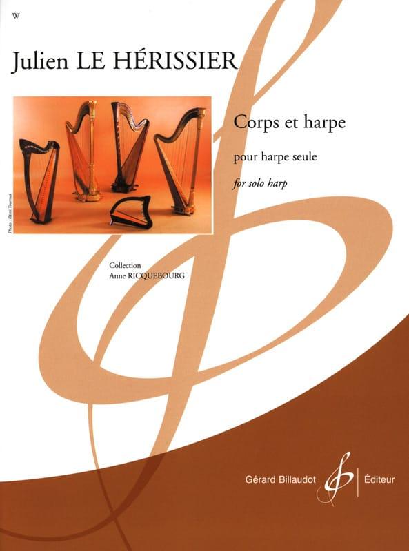 Corps et Harpe - Hérissier Julien Le - Partition - laflutedepan.be