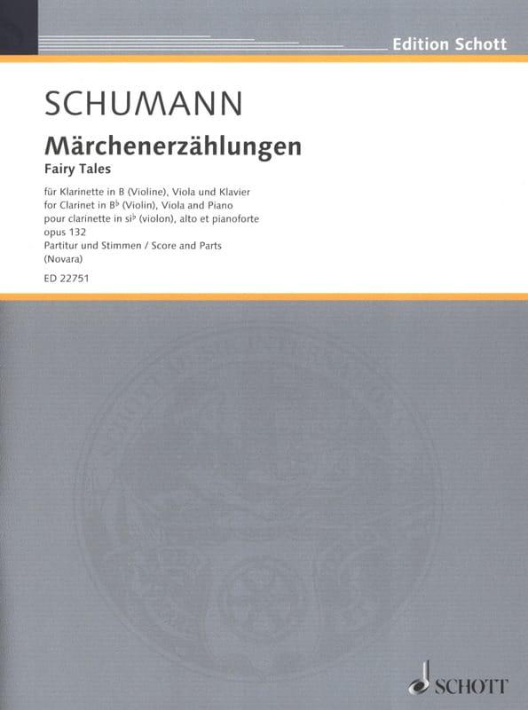 SCHUMANN - Märchenerzählungen, op. 132 - Partition - di-arezzo.co.uk