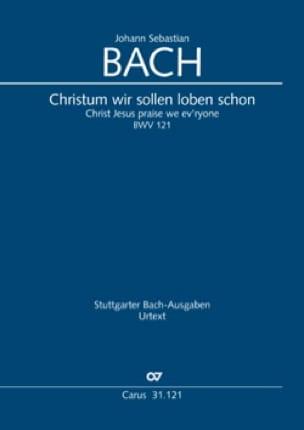 Cantate BWV 121 - BACH - Partition - Petit format - laflutedepan.com