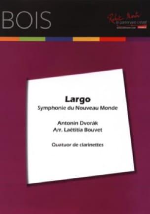 DVORAK - Largo - 4 Clarinets - Partition - di-arezzo.co.uk