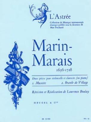 Musette et Branle de Village - Marin Marais - laflutedepan.com