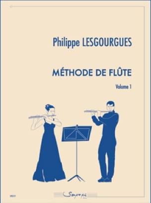 Méthode de Flûte - Volume 1 - Philippe Lesgourgues - laflutedepan.com