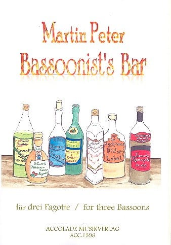 Bassoonist's Bar - Martin Peter - Partition - laflutedepan.com