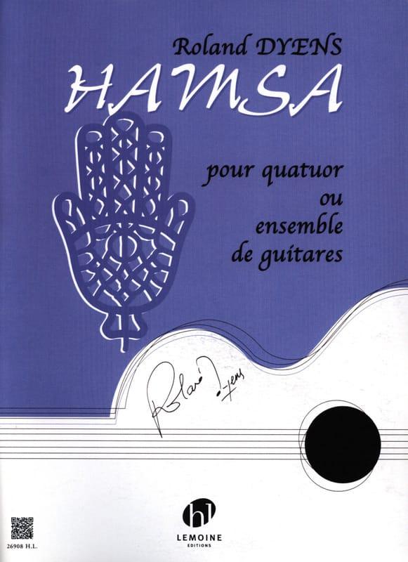 Hamsa - Roland Dyens - Partition - Guitare - laflutedepan.com
