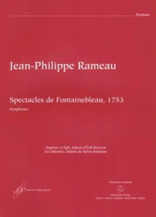Jean-Philippe Rameau - Spectacles de Fontainebleau - Conducteur - Partition - di-arezzo.fr