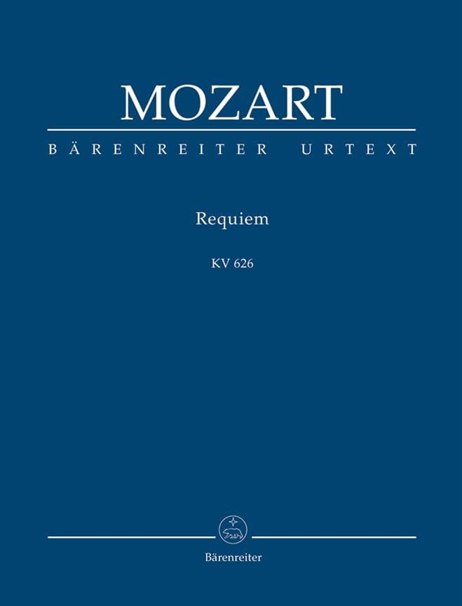 MOZART - Requiem KV 626 - conducteur - Partition - di-arezzo.fr