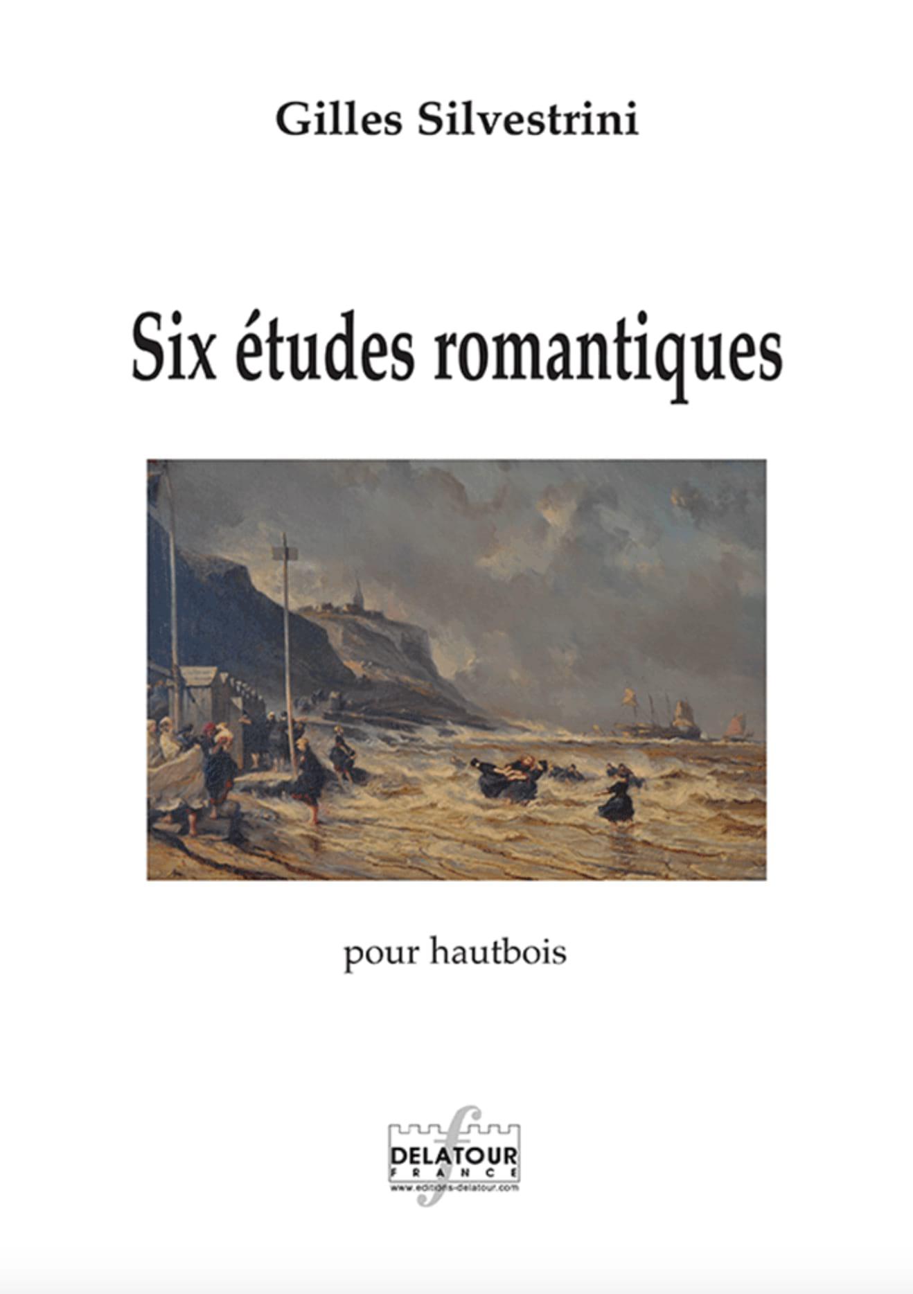 Gilles Silvestrini - Six romantic studies - Partition - di-arezzo.com