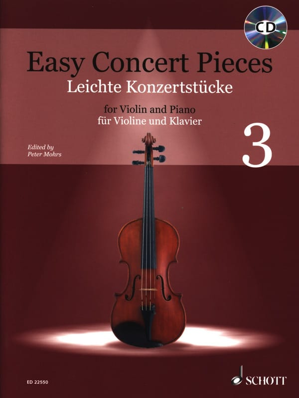 - Easy Concert Pieces 3 - Violin and Piano - Partition - di-arezzo.com
