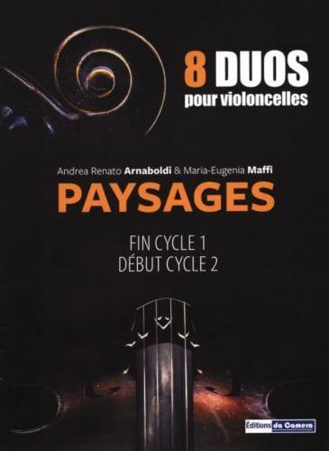 Paysages - 2 Violoncelles - laflutedepan.com