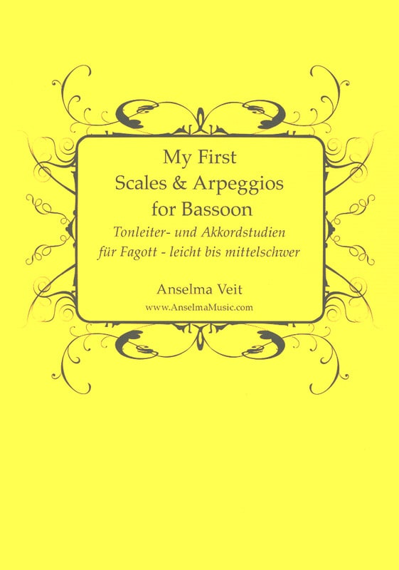 Anselma Veit - My First Scales and Arpeggios - Bassoon - Partition - di-arezzo.com