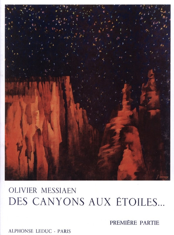Olivier Messiaen - From Canyons to Stars - Part 1 - Partition - di-arezzo.com