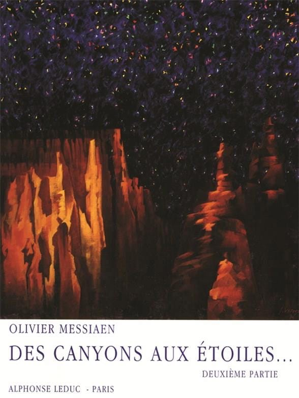 Olivier Messiaen - Canyons In The Stars - Part 2 - Partition - di-arezzo.com