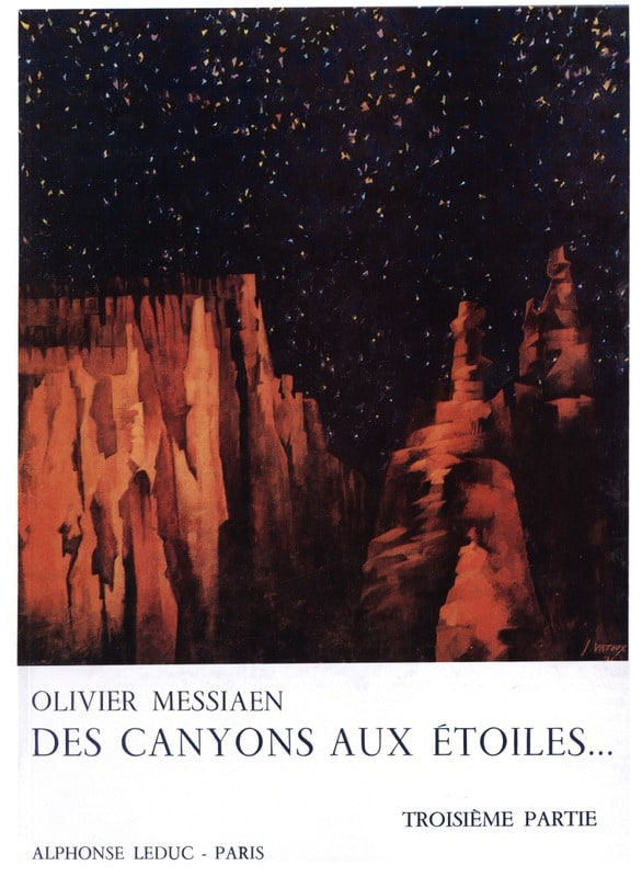 Olivier Messiaen - From Canyons to Stars - Part 3 - Partition - di-arezzo.com