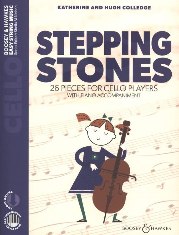 Stepping Stones - Violoncelle - Partition - laflutedepan.com