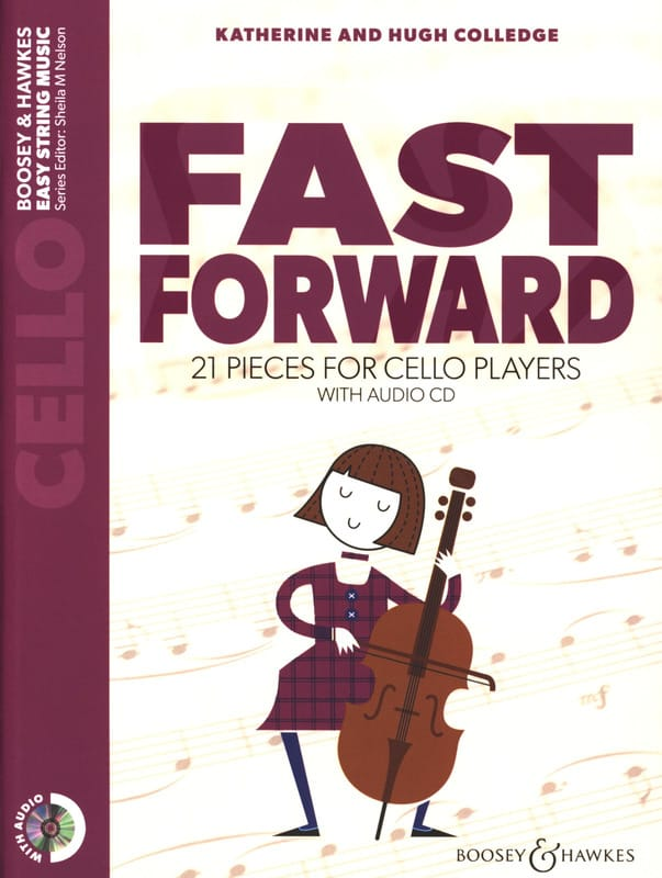 Katherine & Hugue Colledge - Fast Forward - Cello - Partition - di-arezzo.com