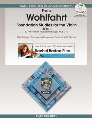 Franz Wohlfahrt - Foundation Studies for the Violin, vol. 1 - Partition - di-arezzo.com