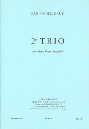 Trio n° 2 - MILHAUD - Partition - Trios - laflutedepan.com