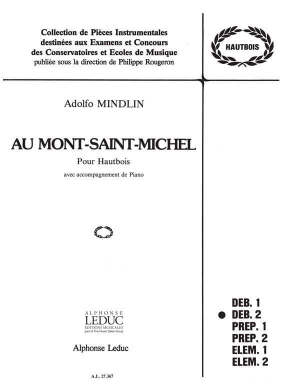 Au Mont Saint Michel - Adolfo Mindlin - Partition - laflutedepan.com