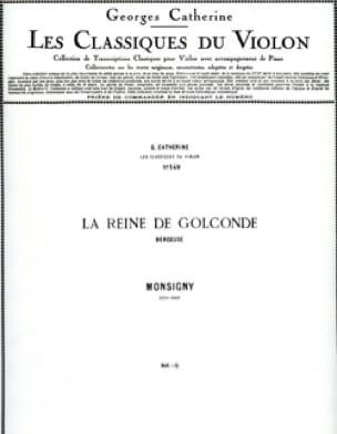 La Reine de Golconde - Monsigny / Catherine Georges - laflutedepan.com