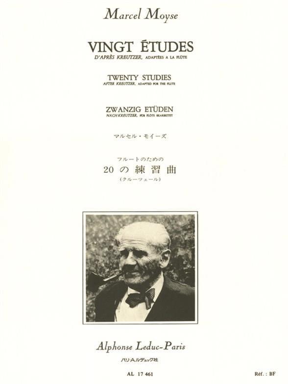 20 Etudes - Moyse Marcel / Kreutzer Rodolphe - laflutedepan.com
