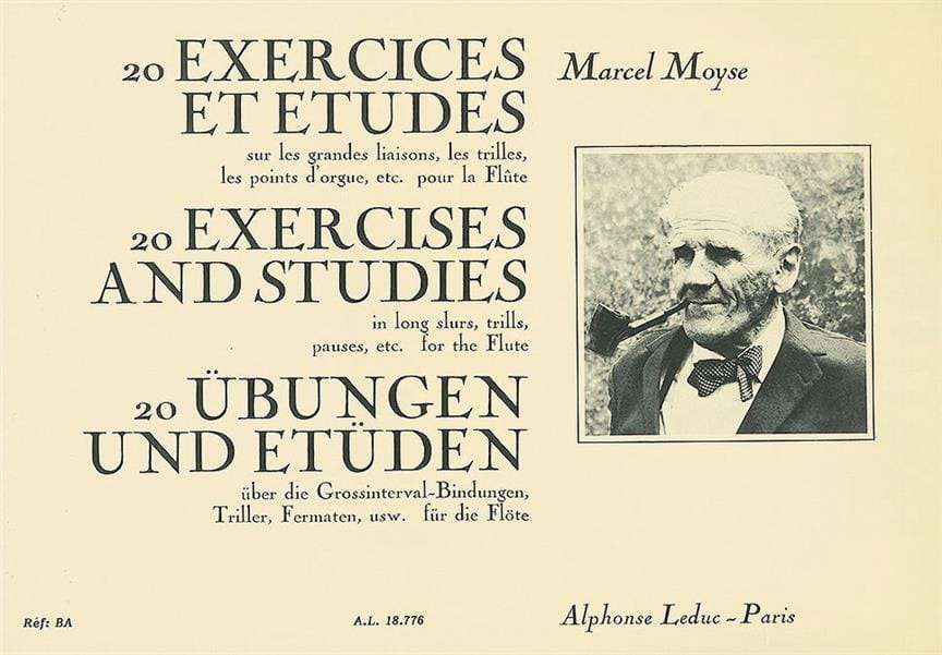 Marcel Moyse - 20 Exercises and Studies - Partition - di-arezzo.co.uk