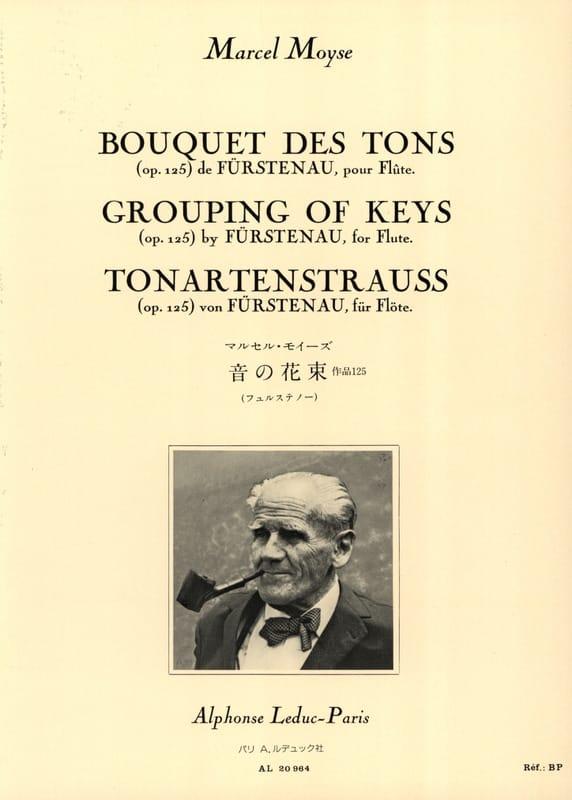 Fürstenau Anton Bernhard / Moyse Marcel - Bouquet of Tons op. 125 - Partition - di-arezzo.co.uk