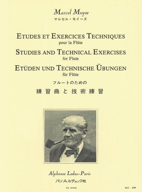 Marcel Moyse - Studies and technical exercises for the flute - Partition - di-arezzo.co.uk