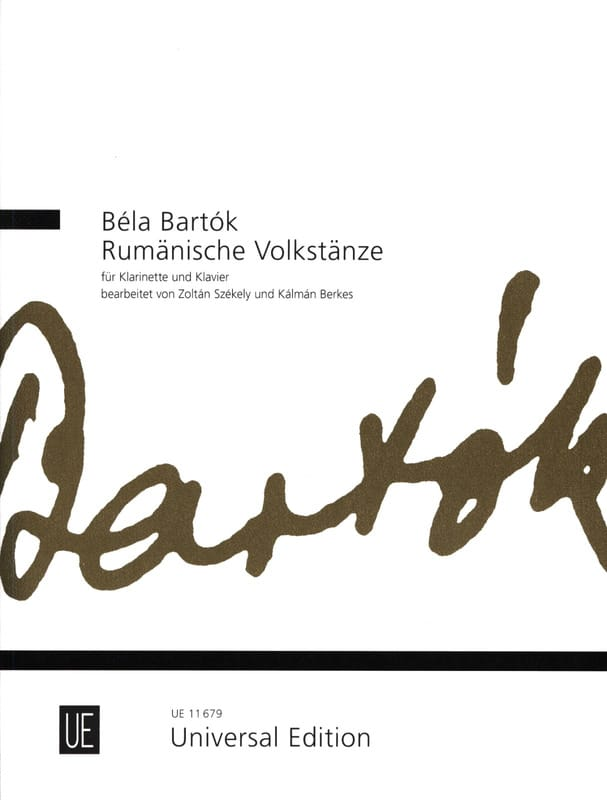 Rumänische Volkstänze - BARTOK - Partition - laflutedepan.com