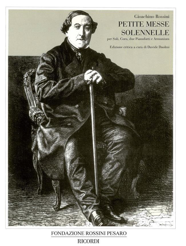 Gioachino Rossini - Pequeña Misa Solemne - Conductor - Partition - di-arezzo.es