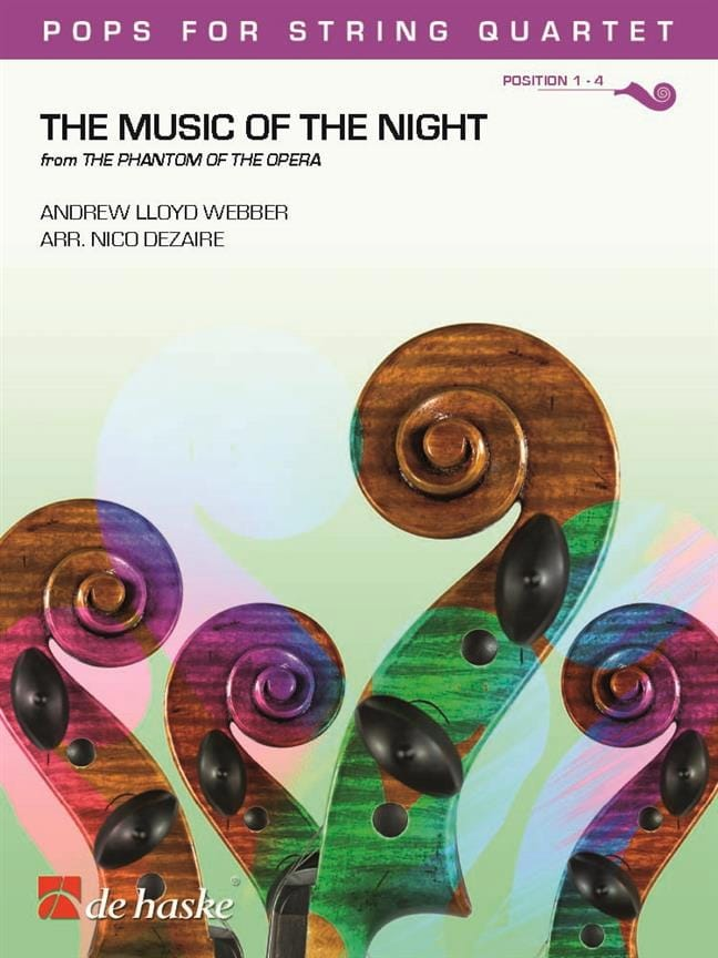 The Music of the Night - Andrew Lloyd Webber - laflutedepan.com
