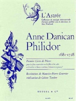 Anne Danican-Philidor - 1er Livre de pièces - Flûte Bc - Partition - di-arezzo.fr