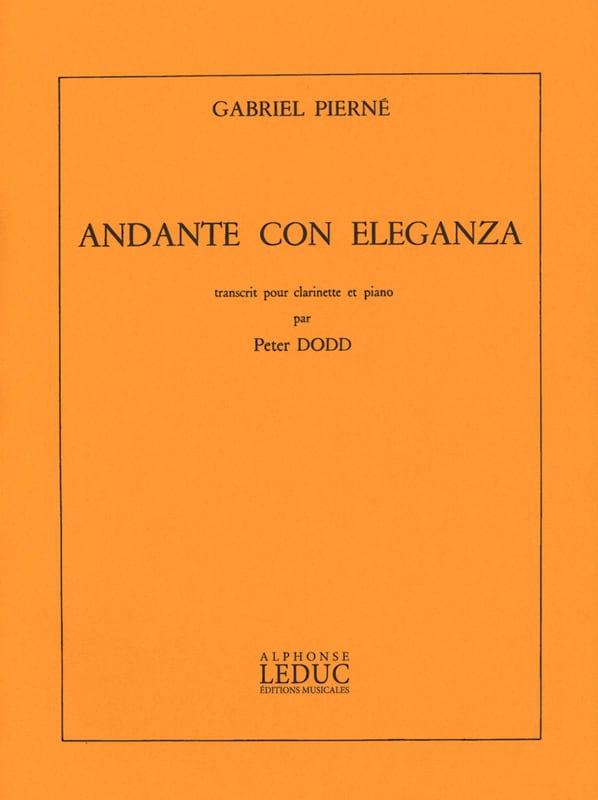 Gabriel Pierné - Andante con eleganza - Partition - di-arezzo.co.uk