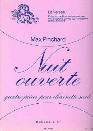 Nuit ouverte - Max Pinchard - Partition - laflutedepan.com